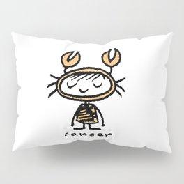 crabby cancer cutie pie Pillow Sham