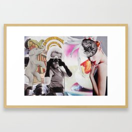 Monroe and Me Framed Art Print