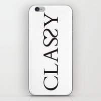 classy iPhone & iPod Skins featuring Classy by Rui Faria