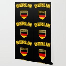 Berlin, with black bg Wallpaper