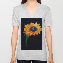 Sunflower Outburst Unisex V-Neck