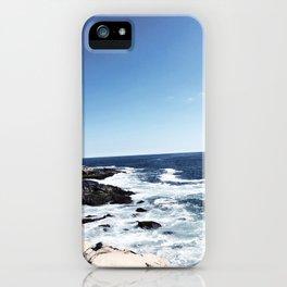 New England Ocean Waves iPhone Case
