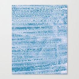 Blue Water Aqua Splash Beading Bouy Canvas Print