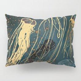 Metallic Jellyfish Pillow Sham