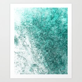 Sea Greenness Art Print