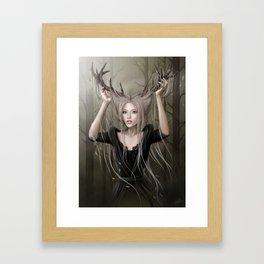 Orée du bois Framed Art Print