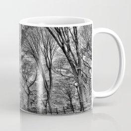 Central Black Coffee Mug