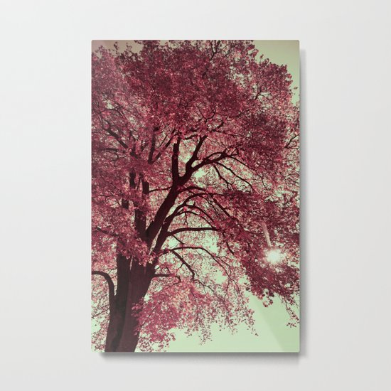 Autumn Blood Metal Print