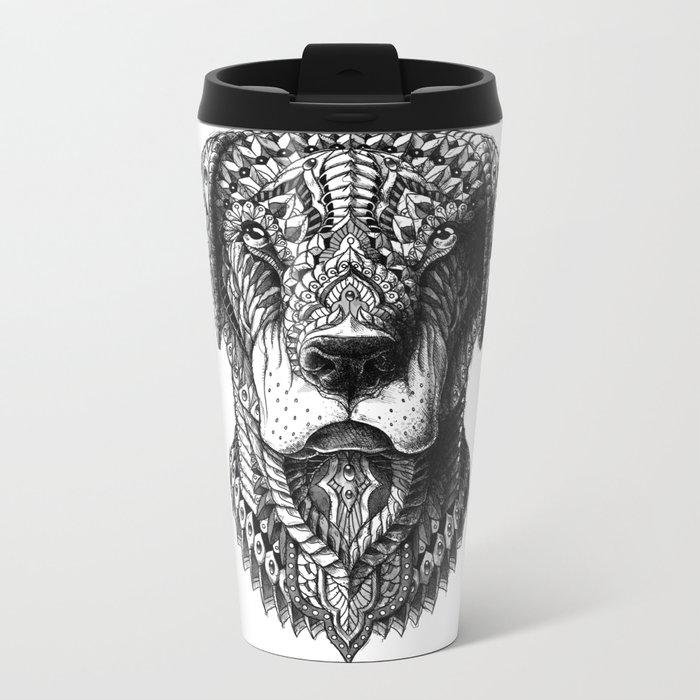 Labrador Metal Travel Mug
