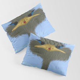 George And His Visitor Pillow Sham