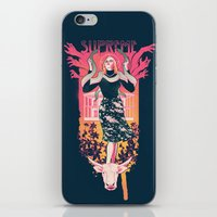 supreme iPhone & iPod Skins featuring Supreme by Hillary White
