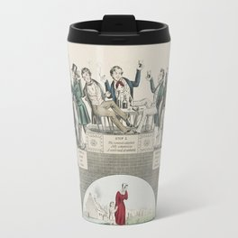 From the First Drink to the Grave Travel Mug
