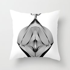 Spirobling XV Throw Pillow