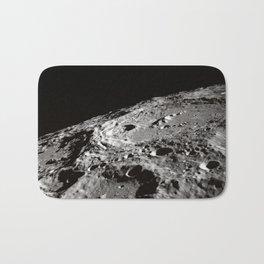Terraced Wall Crater on the Lunar Limb  Bath Mat