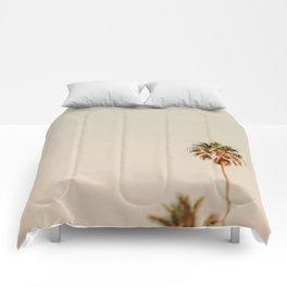 Minimal Palms Comforters