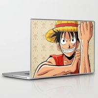 one piece Laptop & iPad Skins featuring One piece by Duitk