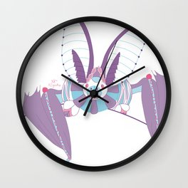 Robot Bat Wall Clock