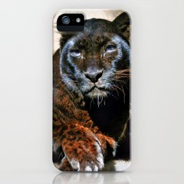 The Black Leopard iPhone Case