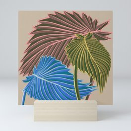 Vivid Palms I Mini Art Print