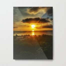 Sunset Aguadilla 2 Metal Print