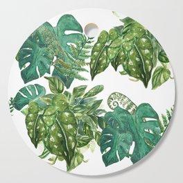 A Pattern of Plants Cutting Board