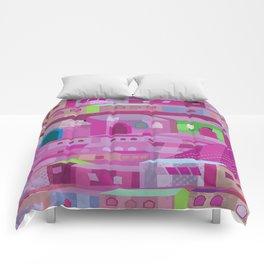 Ecatapec in Purple Comforters
