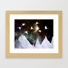 Fly High Framed Art Print