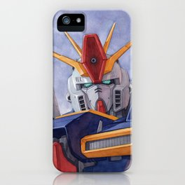 ZZ Gundam iPhone Case