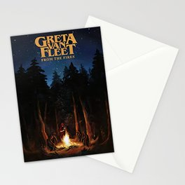 greta van fleet album from the fires Stationery Cards