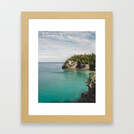 Bruce Peninsula in October Framed Art Print