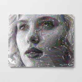 Portrait-Sketch 143 Metal Print