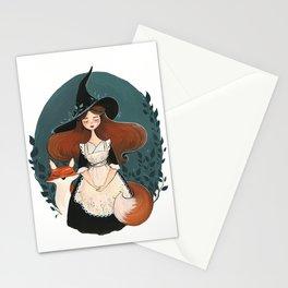 Botanical Witch Stationery Cards