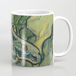 "Vincent Van Gogh ""Emperor Moth (The giant peacock moth)"" Coffee Mug"