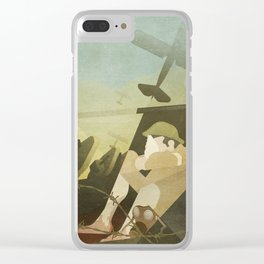 Great War Clear iPhone Case