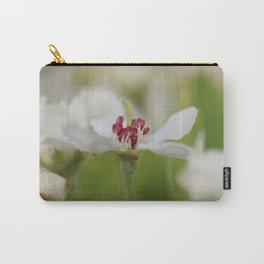 Macro Korean Sun Pear Blossom 2 Carry-All Pouch