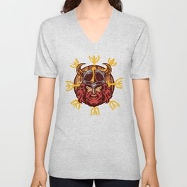 Viking Odin | Valhalla Warrior Unisex V-Neck