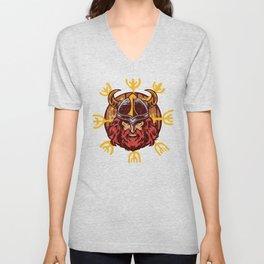 Viking Odin | Valhalla Warrior Unisex V-Neck