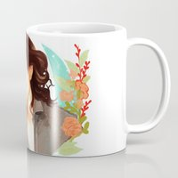 harry styles Mugs featuring Harry Styles by chazstity