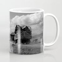 peru Mugs featuring Peru Journey NO3 by Julia Aufschnaiter