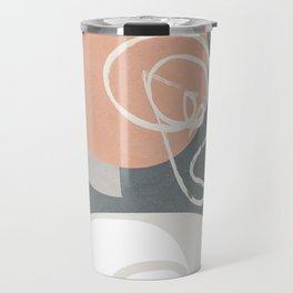 Abstract Minimal Geometry 16 Travel Mug