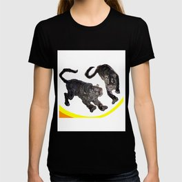 Two Tigers jGibney The MUSEUM Society6 Gifts T-shirt