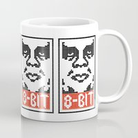 8 bit Mugs featuring 8-Bit by tshirtsz