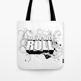 How We Roll Transparent Tote Bag
