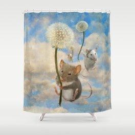 Dandemouselings Shower Curtain