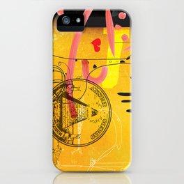 Handicapped Giraffe iPhone Case