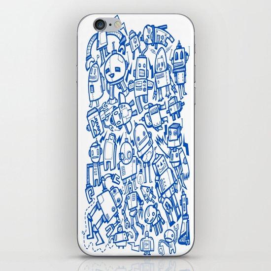 Robot Overload iPhone & iPod Skin