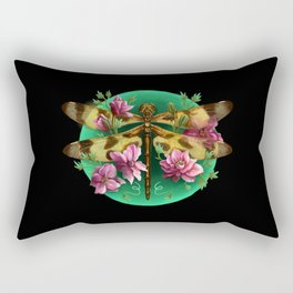 Halloween Pennant Dragonfly Rectangular Pillow