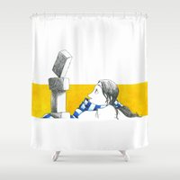 oz Shower Curtains featuring Equilibria - Oz by Massimiliano Feroldi