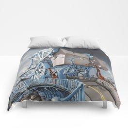 Johnson Street Bridge Comforters