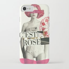 c´est rose iPhone Case